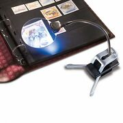 Lighthouse High Quality Table Desk Clip Magnifier Flexible Led 2.5x 5x New Gift