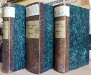 Russian Books. Three Volumes.... Ministry Of National Enlightenment. 1864 ...