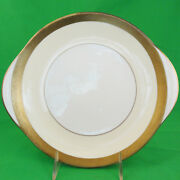 Buckingham By Minton Cake Plate Handled New Never Used Fine Scratches England