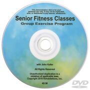 New Senior Fitness Classes Dvd - Active Adults Group Exercise Program