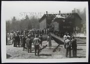 Clinton Ma Engine House And Turntable Boston And Maine Railroad Enthusiasts Photo
