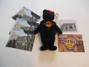 Rome Hard Rock Cafe Souvenir Collection Patch And Bear + Bonus Magnet And Post Cards