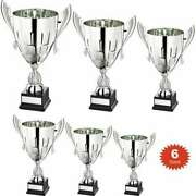 Classic Silver Presentation Trophy Cup Conical Bowl Free Engraving 6 Sizes At33