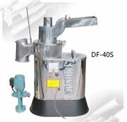 Herb Grinder Automatic Continuous Hammer Mill Mill Pulverizer 40kg/h Df-40s Il