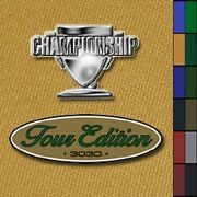 Championship Tour Edition 7and039 Pool Table Felt Cloth Choose Your Color