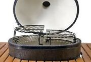 Primo Ceramic Charcoal Grill Extended Coated Cooking Grid For Oval Jr. 312