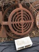 Cast Iron Grate, Mfr Neenah Foundry Wisconsin. R-4349-d, Drainage/ditch/beehive