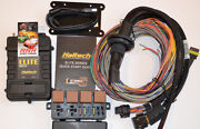 Haltech Elite 2500 Ecu And 8 Ft Premium Universal Wire-in Harness And 3 Bar Map