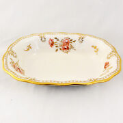 Royal Pinxton Roses Royal Crown Derby Open Vegetable New Never Used Made England