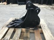 New 12 Excavator Bucket For A Takeuchi Tb125 With Coupler Pins