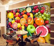 3d Fruit Apple 7112 Wallpaper Mural Wall Print Wall Wallpaper Murals Us
