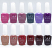 Opi Peru Collection Gelcolor Gel Polish - Base And Top Coat - Choose Any - 0.5 Oz