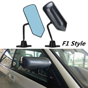 2x Universal Bullet Style Race Car Side Rear View Mirrors Exterior Mirror Custom