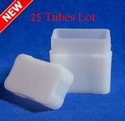 Coin Safe Square Tube For Silver Bar Bullion Lot Of 25 High Quality Storage Tube