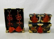 607 Japanese Chest Of Drawers Tansu And Boxes Nagamochi / Ornament For Hina Doll