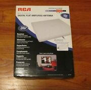 Rca Digital Flat Amplified Antenna Multi-directional Ant1450 Barely Used