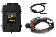 Haltech Elite 2000 Ecu And 8 Ft Long Basic Universal Wire-in Kit + 3 Bar Map