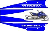 Yamaha Snoscoot Tunnel Graphics Wrap Decals Sticker Es 200 Kids Sled 2018 2019 3