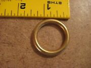 1 Solid Brass O Rings Sca Pack Of 10