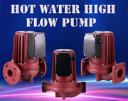 Hot Water High Flow 220v 550-2200w Central Heating Circulator Mute Boiler Heavy