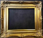 5 Wide Antique Gold Ornate Victoria Baroque Wood Picture Frame 801g