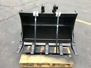 New 36 Excavator Bucket For A Case Cx37 With Coupler Pins