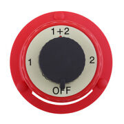 Boat Rv Fishing Dual Battery Isolator Selector Switch On Off 1/2 Or Both