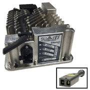 Lester Summit Series Ii 36/48v Battery Charger And 2 Pin Dc Cord Set For Ezgo Txt