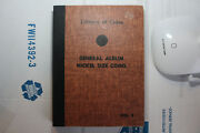 Library Of Coins General Album Nickel Size Coins - Rare - Free Shipping