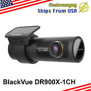 [brand New] Blackvue Dr900x-1ch 4k Uhd Cloud Wi-fi Gps 32gb + Hardwire Cable