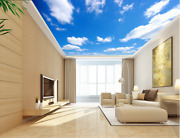 3d Floating White Clouds 89 Wall Paper Wall Print Decal Wall Deco Aj Wallpaper