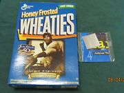 Wheaties Cereal Box Jackie Robinson 50th Anniversary + Penny Hardaway Poster