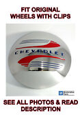 Single Stainless Steel Moon Clip Style Hubcap 1941-1948 Chevy Car Pickup Truck