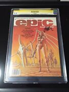 Epic Illustrated 3 Cgc 9.8 Ss Jim Starlin 1st App Of Dreadstar White Pages