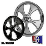 30 Inch El Toro Custom Motorcycle Wheel Harley Bagger Touring