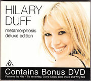 Hilary Duff - Metamorphosis Deluxe Edition - Cd And Dvd 2003 Australia