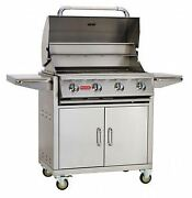 Bull Bbq Outdoor Natural Gas 30 Outlaw Grill And Cart