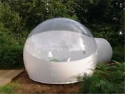 Stargaze Outdoor Single Tunnel Inflatable Bubble Camping Tent Half-n-half Loo Fe