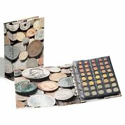 Lighthouse Optima Coin Album Collector Gift Beautiful 5 Pages For 152 Coins New