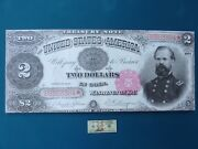 1891 2 Star Note General Mc Pherson Giant Limited Edition Treasury Art