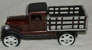 Vintage Cast Iron Stake Truck