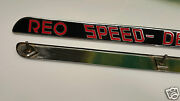 Reo Speed Delivery Hood Emblem Set Of Two - 1930s