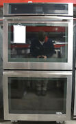 Jenn-air Jjw2730ds 30andprime 10 Cu. Ft. Total Capacity Electric Double Wall Oven