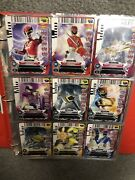 Power Rangers Action Card Game Complete Set All 4 Series