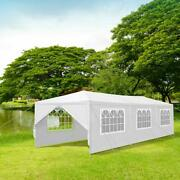 10and039x30and039 Wedding Party Tent 8 Sides Awning Canopy Gazebo Outdoor Waterproof White