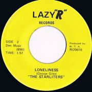 The Starliters Loneliness Northern Soul Lazy And039rand039 Records