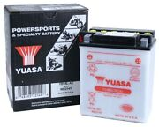 Yuasa Yb14l-a2 Arctic Cat Lynx And03991-and03993 Conventional Yumicron 12v Battery