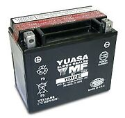 Yuasa Ytx12-bs Kymco Xciting 250i And03910-and03911 Scooter Agm Fresh Pack 12 Volt Battery