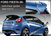 Spoiler Rear Roof Ford Fiesta Mk7 Mkvii Wing Accessories Before Facelift