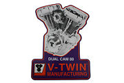 Twin Cam Plaque Fits Harley-davidson